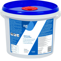 Pal TX Multi Purpose Sanitising Wipes Tub 1000