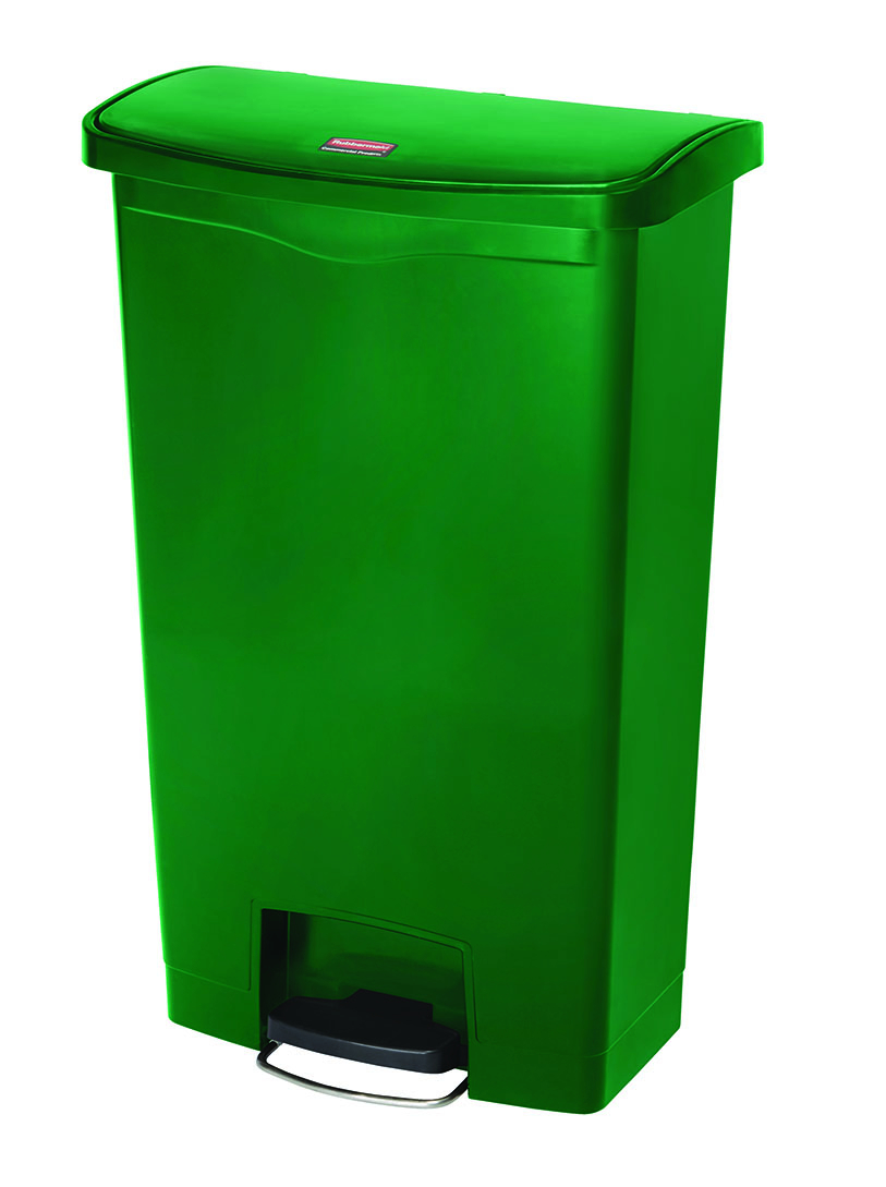 Bin Slim Jim 68ltr GREEN