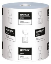 Katrin Basic System Towel M Blue 1ply Cs6