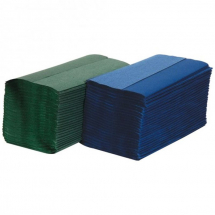 S Fold Towels 1ply GREEN