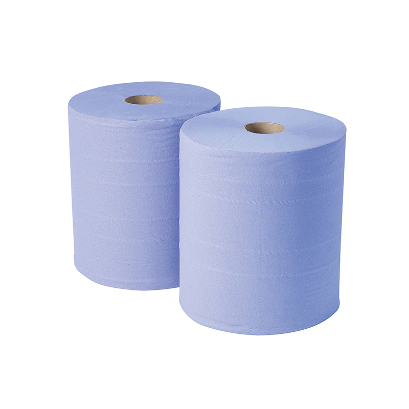 Bumperoll 2ply 400mx30cm BLUE Pk2