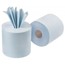 C Feed Rolls 2ply Embossed cs6 BLUE