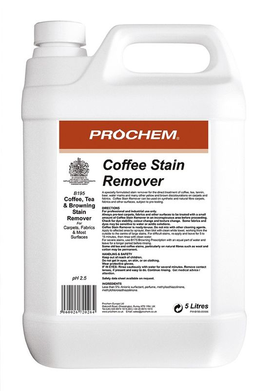 Prochem Coffee Stain Remover 5ltr