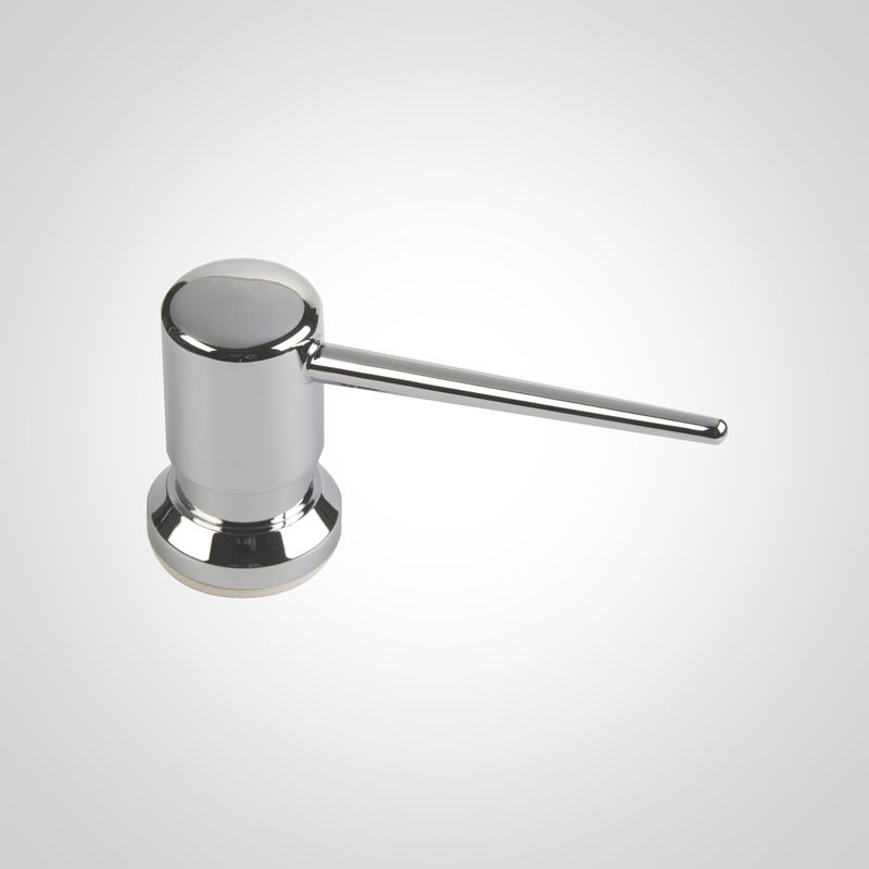 Disp Soap Dolphin Vanity Top Chrome