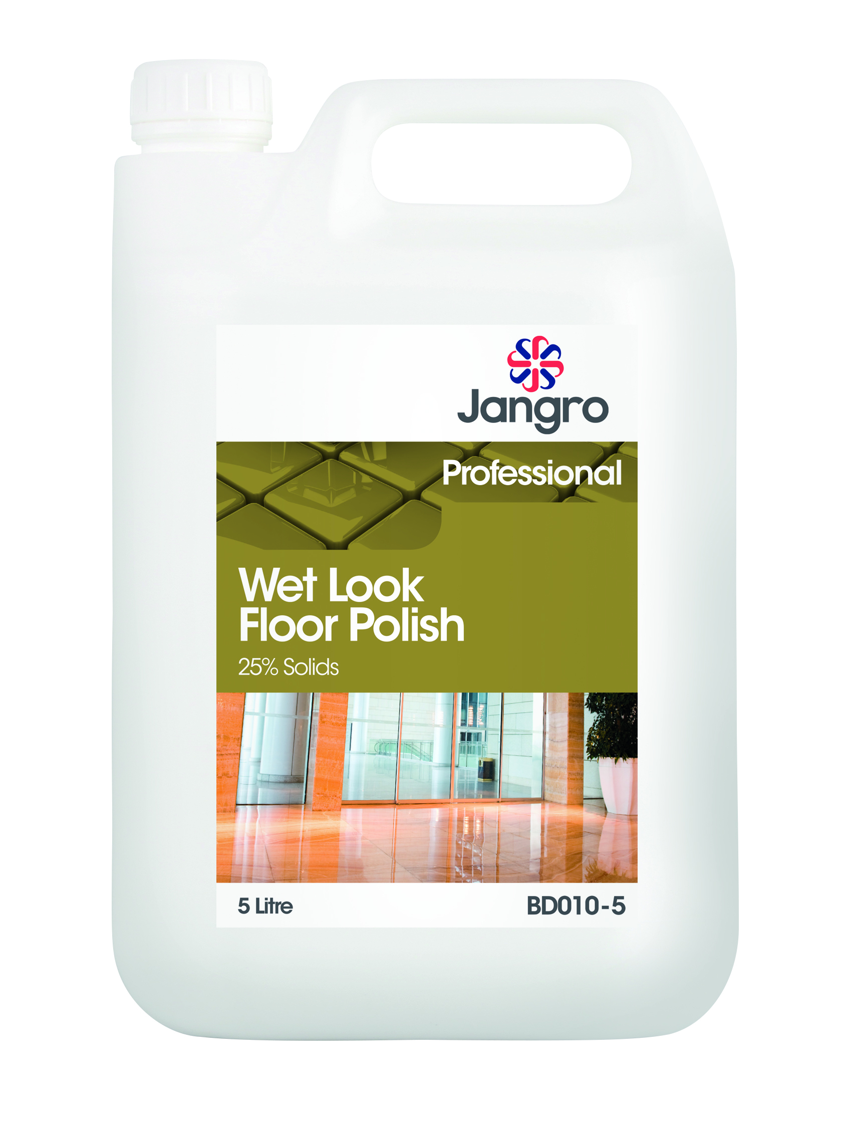 Jangro Wet Look Floor Pol 5ltr