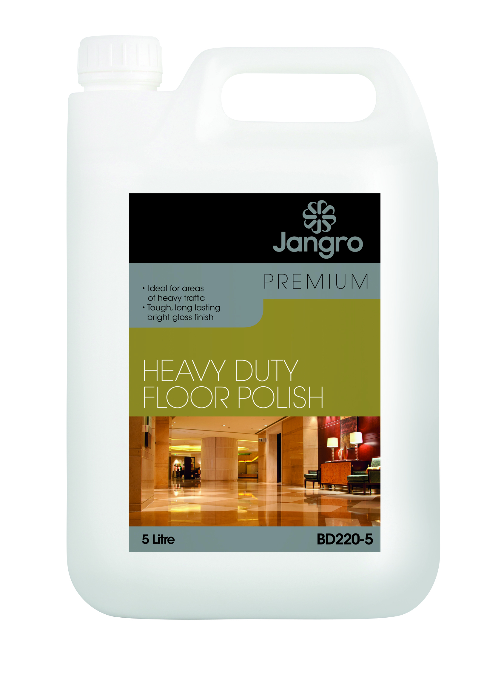 Premium H/Duty Floor Polish 5L