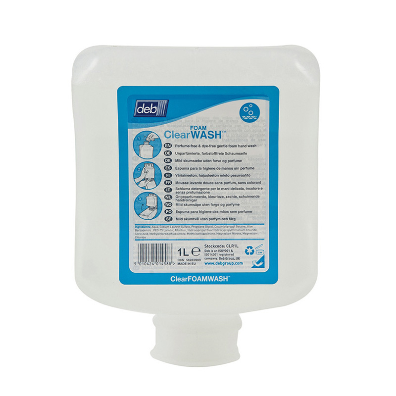 Refresh Clear Foam Wash 6x1ltr
