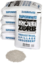 Super White Multi Zorb Absorbent Granules 20 Ltr