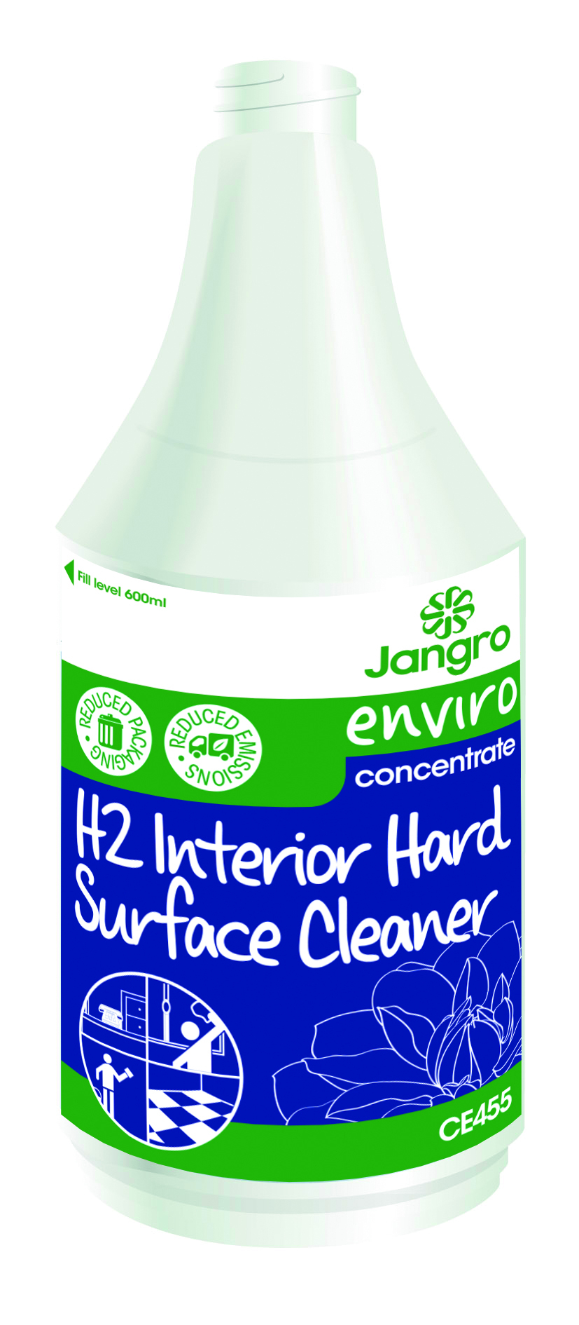 Spray Bottle Enviro H2 Hard Surface Cleaner
