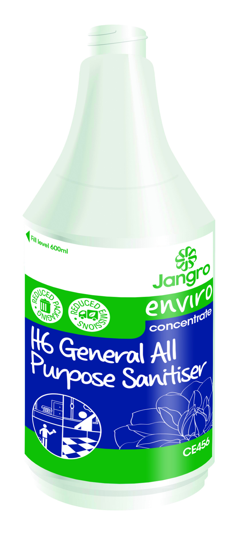 Spray Bottle Enviro H6 General All Purpose Cleaner