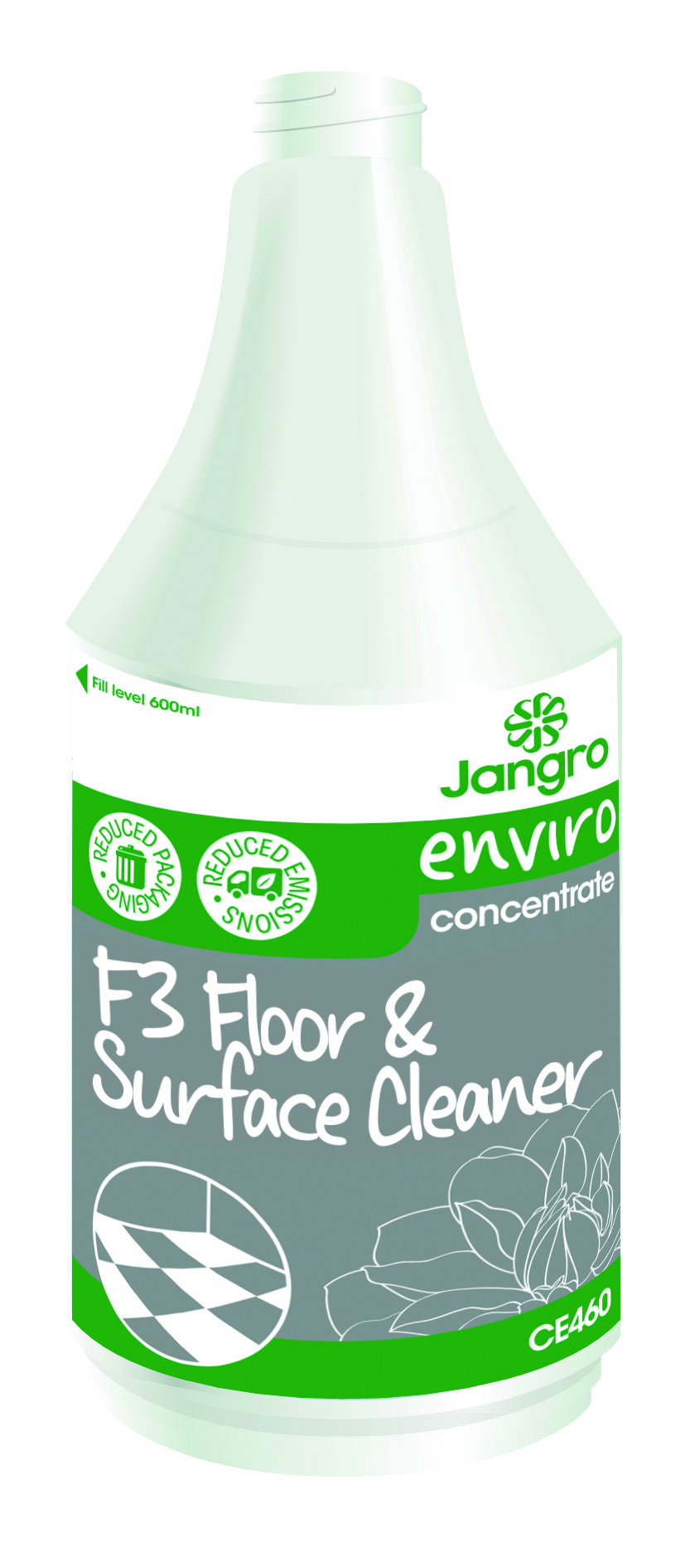 Spray Bottle Enviro F3 Floor Cleaner