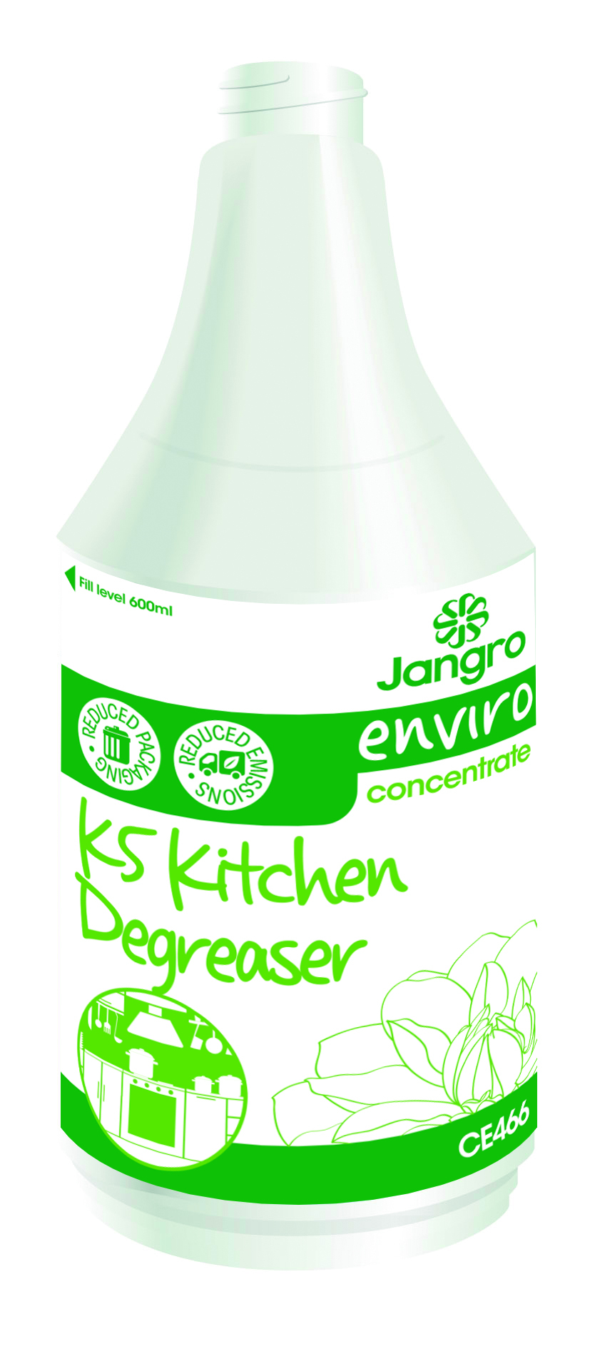 Spray Bottle Enviro K5 Kitchen Degreaser