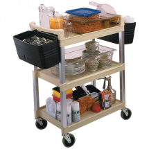 Trolley Service/Catering Cart 5810 BLACK