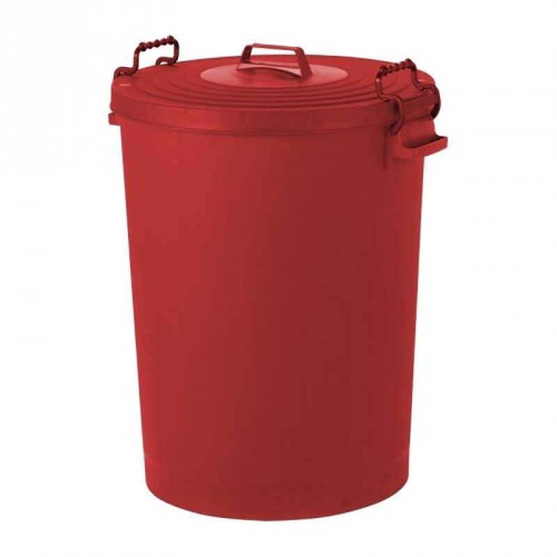 Bin Refuse 110ltr RED PD110R