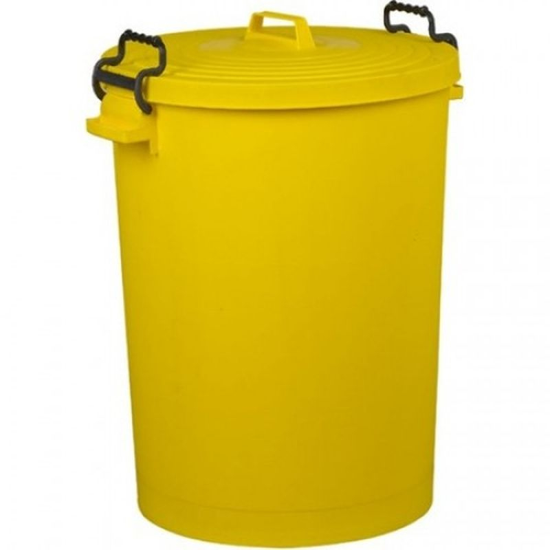 Bin Refuse 110ltr YELLOW