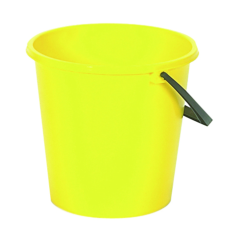 Bucket Round 2 Gal YELLOW 3302Y