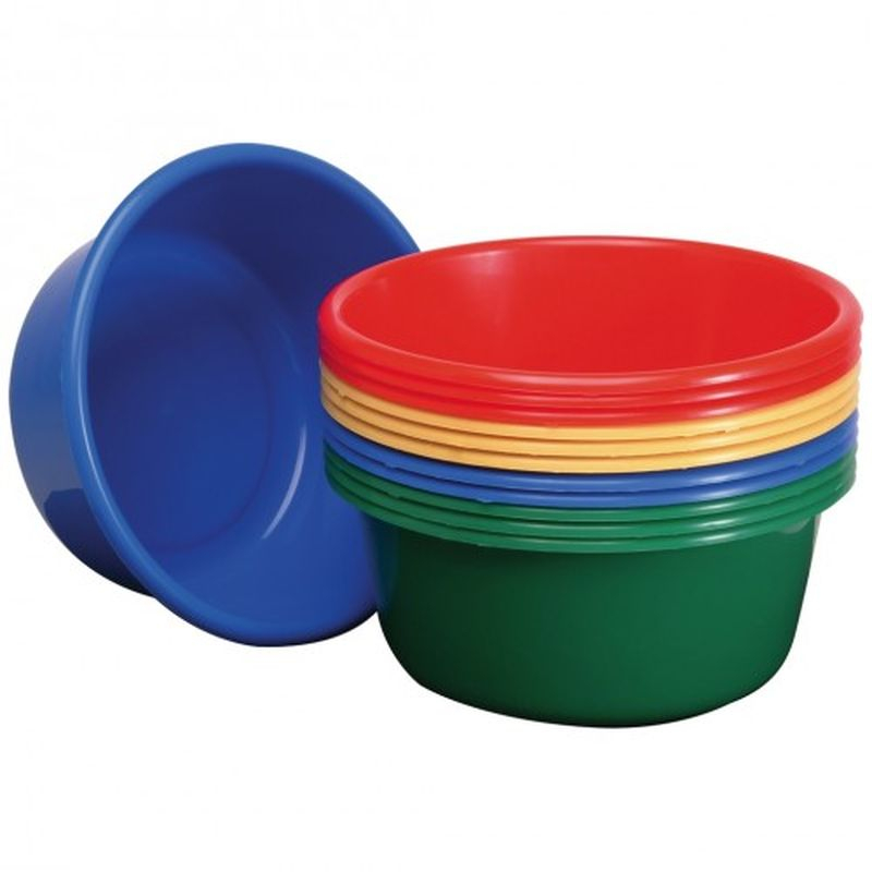 Wash Up Bowl Plastic Round GREEN L1604293