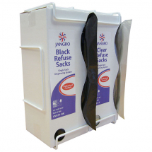 Bin Liners 16x29x39 Clear Single Sack ABRD/2