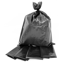 Bin Liners/Rubble Bags 22x32 BLACK 100pkEB/100