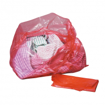 Bin Liners/Disolving 18x28x38 200pk RED