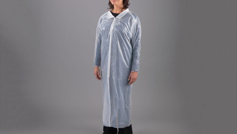Visitor Coats Polythene 12pk