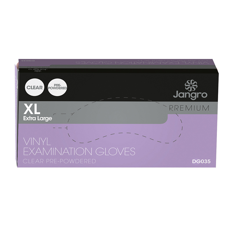 Glv Vinyl Clear-XL 100pk GD47