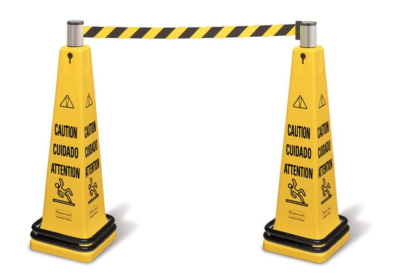 Rubbermaid Portable Barricade Caution
