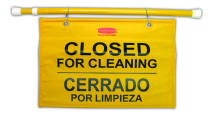 Safety Sign-Closed for Cleaning Hanging NWSAHC04L
