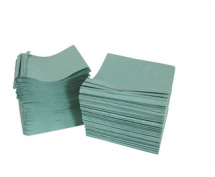 Nursery Hand Towels 1ply GREEN cs7200