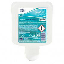 Deb OxyBAC Anti-Bac Foam Wash 3x1ltr TouchFREE