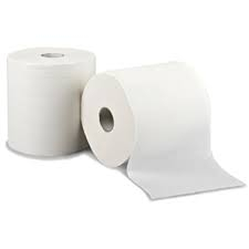 Leonardo 1ply White Roll Towel Cs 6