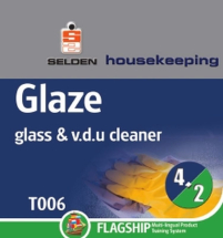 Sel T006 Glaze Window Cleaner 750ml